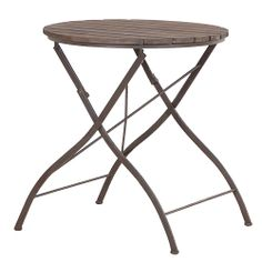 This cute rustic table is perfect for that al fresco evening wine and nibbles, all summer long... Find it at www.orchardlayne.co.uk