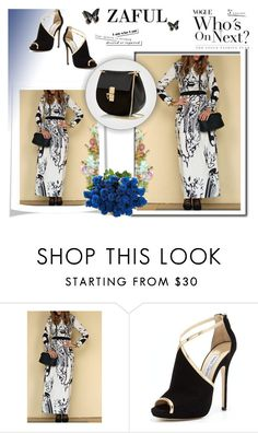 """""""ZAFUL"""" by rilner ❤ liked on Polyvore featuring Jimmy Choo and Chloé"""