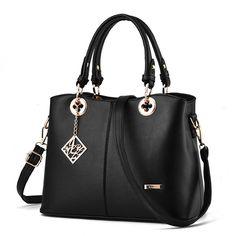Women Leather Handbag Shoulder Bag Messenger Hobo Satchel Tote Crossbody Bag  Leather Handbags 8ea8eafe63cb1