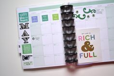 Special Events page and prepping for May in Create 365™ The Happy Planner™ by Amanda Zampelli | me & my BIG ideas