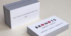 Layered Business Cards - Jukebox Print