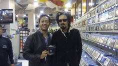 """Frank @SrHombre  30 oct. 2015 Taken from twitter, user: SrHombre """"@JohnnyIndovina awesome meeting you! As I said your music is some of the music I first ever heard, just great music!"""""""