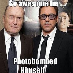 Can never have too many RDJ's in a photo!