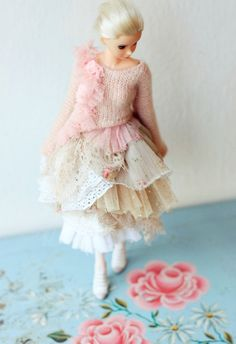 Sugarbabylove - Pink Queen set for Momoko Doll