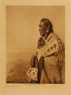 Blackfoot Indian by DALAIWMN