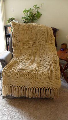gorgeous textured blanket