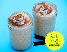 Simple Coffee Milkshakes