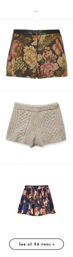 """""""....."""" by opaqueaura ❤ liked on Polyvore featuring shorts, bottoms, pants, short, print shorts, patterned shorts, floral pattern shorts, floral printed shorts, short shorts and rebecca minkoff"""