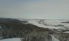 Vue du sommet, Mont Lac-Vert, Hébertville, Québec, décembre 2013 2013, Photos, Canada, Snow, Outdoor, Green, Outdoors, Photographs, Outdoor Games