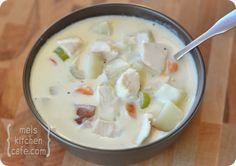Cream Cheese Chicken and Vegetable Soup