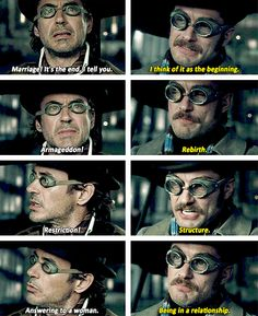 Sherlock Holmes and John Watson. The boys have a fundamental philosophical disagreement. Virginia Woolf, Mejores Thrillers, Holmes Movie, Sherlock John, Sherlock Comic, Sherlock Holmes Quotes, Elementary My Dear Watson, Walt Disney, Mrs Hudson
