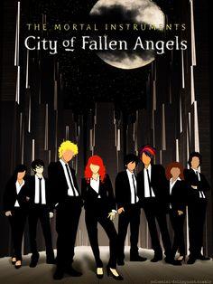 City of fallen angels, fanart,