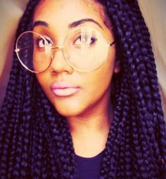 Big Box Braids | un'ruly | top five styles to rock while transitioning