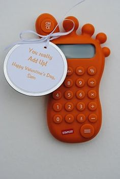 Calculating Valentines- You really add up! Cute one!