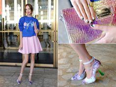 Karolina Gliniecka | Street Style New York Fashion Week Spring 2014 | Everywhere