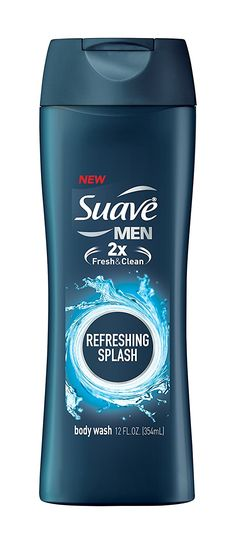 Suave Men Body Wash, Refreshing, 12 Fl Oz *** See it now, it's a great product : Fresh Groceries