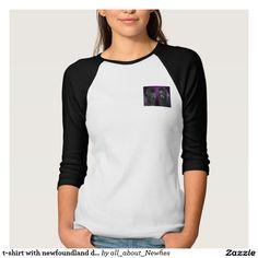 t-shirt with newfoundland dog