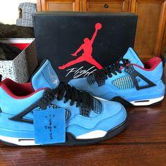 new product abb71 95267 Jordan Shoes   Air Jordan Retro 4 (Travis Scott)   Color  Blue