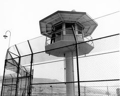 Guard Tower at Biscailuz Jail (date unk) Sheriff, Historical Pictures, History, Architecture, Image, Action, Law Enforcement, Lighthouses, Tatuajes