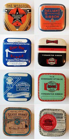 Vintage packaging design