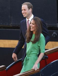 Gorgeous as always. Love this color on her. Kate Middleton. DvF.