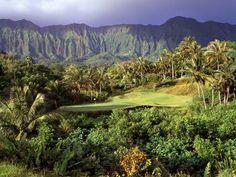 Luana Hills just outside Honolulu, Hawaii.....you feel like you are in Jurassic Park