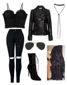 Designer Clothes, Shoes & Bags for Women Bad Girl Outfits, Teenage Girl Outfits, Girls Fashion Clothes, Teen Fashion Outfits, Mode Outfits, Baddie Outfits Casual, Classy Outfits, Stylish Outfits, Really Cute Outfits