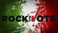 Mancano solo 9 giorni al voto e dopo la mia campagna #ROCKTHEVOTE in cui vi spingevo a votare, ad uscire