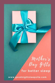 Have you ever met a mom who didn't want more or better sleep? We haven't quite figured out how to literally give sleep as a gift for Mother's day (give us time!), so until then, we've rounded up some of our favourite gift ideas to help moms sleep better, enjoy some quiet time and feel recharged this Mother's Day. Use this list to pick out a gift for the moms in your life or send it along to those who might be looking to get you something as a sign of appreciation for all you do…
