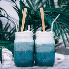 """8,068 Likes, 93 Comments - LINA SABER  (@tropicallylina) on Instagram: """"Water is the driving force of all nature  Ocean-inspired Smoothies (Recipe below) are dedicated…"""""""