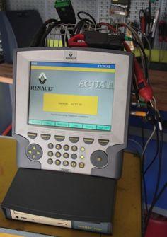 diag facile OBD2 outils de diagnostic, interface valise ELM327 Automobile RENAULT CLIP