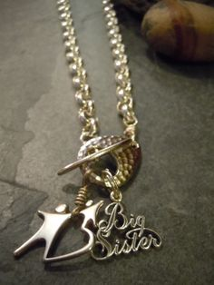 "Big Brothers Big Sisters ""Big Sister"" Logo Necklace"