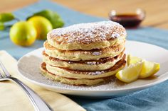 Perfect for the casual weekend brunch, these pancakes are divine – the contrast between the ricotta cheese and citrus tang creates a fluffy, yet rich-tasting, pancake. more