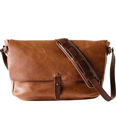 51f5c9ec9c The Vintage Messenger Vintage Leather Messenger Bag