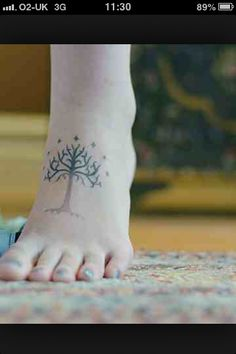 My next tattoo - plus a Tolkien quote :-D