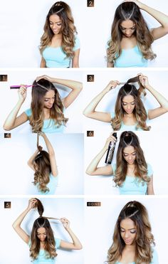 15 Chic hairstyles that will make you NEVER repeat a style at school - Best HairStyles For All Lazy Girl Hairstyles, Chic Hairstyles, Trending Hairstyles, Braided Hairstyles, Simple Hairstyles For School, Curly Haircuts, Beautiful Hairstyles, Black Hairstyles, Straight Hairstyles