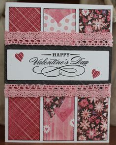 Close to My Heart Valentine's Day Card, by Camile Steenhof