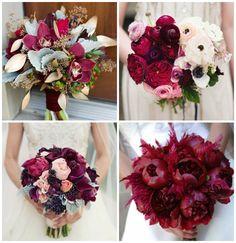 букет невесты марсала - Поиск в Google