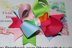 Quadcolor bow