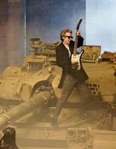 Rock out on a TANK! That's gangsta.
