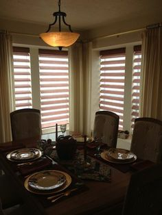Pirouettes from Hunter Douglas add a touch of color - Shady Lady Window Coverings