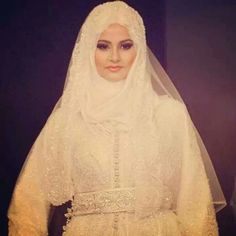 Hijabi bride! MashaAllah!