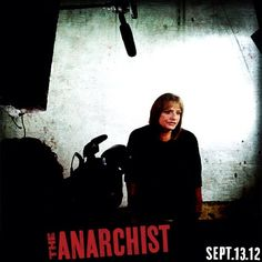 Here's a behind the scenes look at Patti LuPone filming an interview for The Anarchist Broadway!