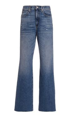 Grace Rigid High-Rise Wide-Leg Jeans By Slvrlake | Moda Operandi