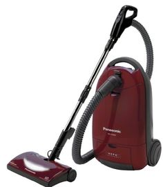 - Order Now Panasonic Full Size Bag Canister Vacuum Cleaner, Burgundy Powerful bag Canister With 12 Amp Motor, 24 Foot Power Cord With Cord Reel. This Panasonic brand for sale at lowest price, order today and choose One-Day Shipping at checkout.