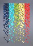 """Shattered: a contemporary improvisational quilt; finished size 57"""" x 80"""""""