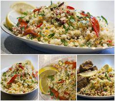 Min paleo verden: Couscous salat....uden couscous