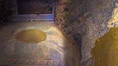 According to the Greek Ministry of Culture, archaeologists revealed to the public stunning photos of a mosaic floor which was discovered in Amphipolis.
