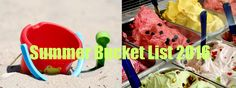 Check out this summer's bucket list by teens for teens! So many ideas . . .