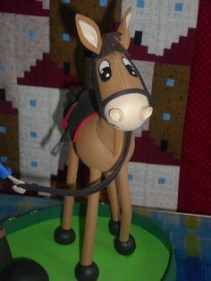 Mi pequeña locura: Fofucha amazona con caballo.